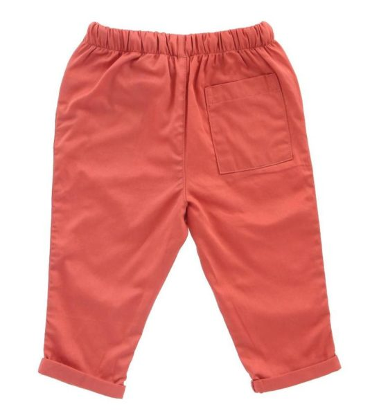 Hunter + Boo Trousers - Terracotta at Nurture Collective
