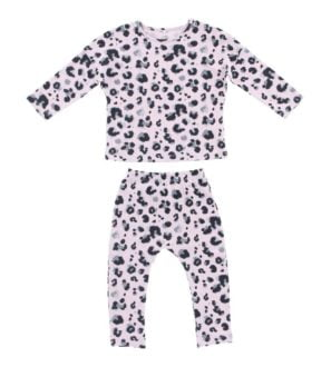 Hunter + Boo Pyjama Set - Yala Pink at Nurture Collective