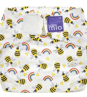 BAMBINO MIO MIOSOLO ALL-IN-ONE REUSABLE NAPPY, Honey Beehive at Nurture Collective