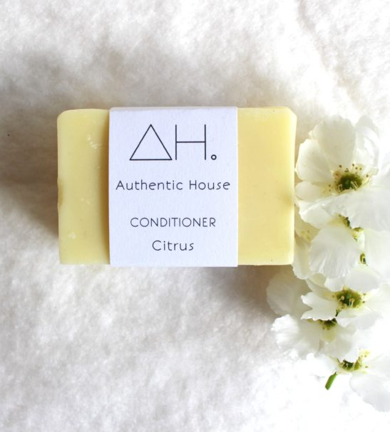 Citrus Conditioner Hair bar by Authentic House at Nurture Collective