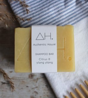 Citrus & Ylang Ylang Shampoo Bar by Authentic House at Nurture Collective
