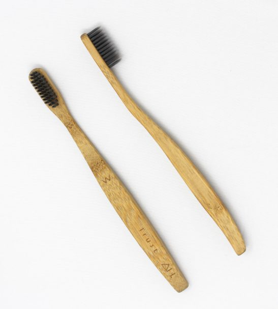 Affirmation Wooden Toothbrushes: Trust Toothbrush by Authentic House at Nurture Collective