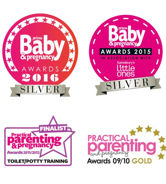 Awards for the Potty Training Pants by Bambinomio at Nurture Collective