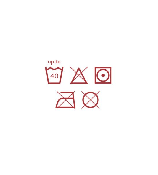 Wash Symbols for the Potty Training Pants by Bambinomio at Nurture Collective