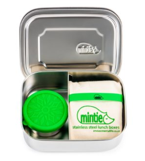 Mintie Duo Stainless Steel Lunchbox Set by Environmental Life at Nurture Collective