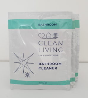 Bathroom Cleaner Refill Sachets by Clean Living