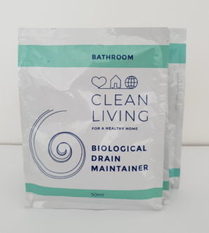 Biological Drain Maintainer Sachets by Cleaning Living at Nurture Collective