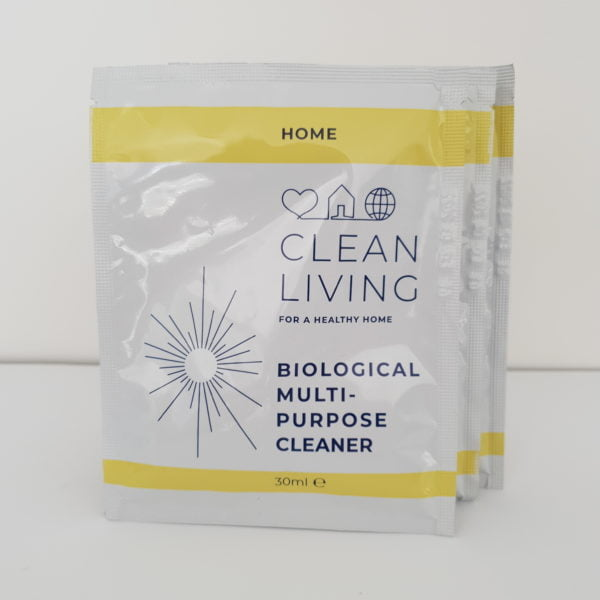 Biological Multi-purpose Cleaner Refill Sachets by Clean Living at Nurture Collective
