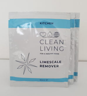 Limescale Remover Refill Sachets by Clean Living at Nurture Collective