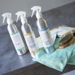 Clean Living plastic-free-cleaning-products at Nurture Collective