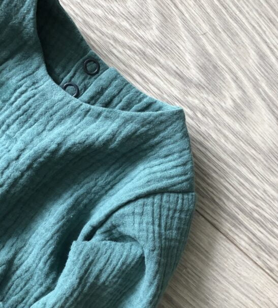 Summer Breeze top in Teal by Little Drop at Nurture Collective