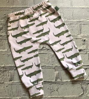 Crocodile Baby Leggings at Nurture Collective
