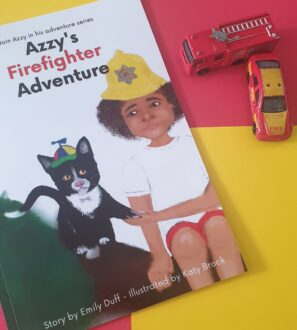 Azzy's Firefighter Adventures children's storybook at Nurture Collective