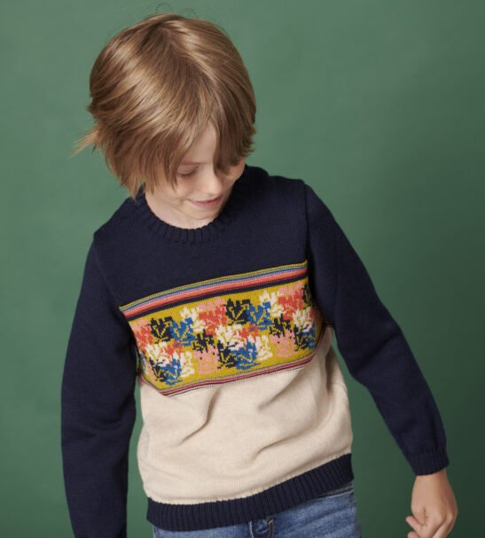 The Adventure Jumper in Blue by The Faraway Gang at Nurture Collective
