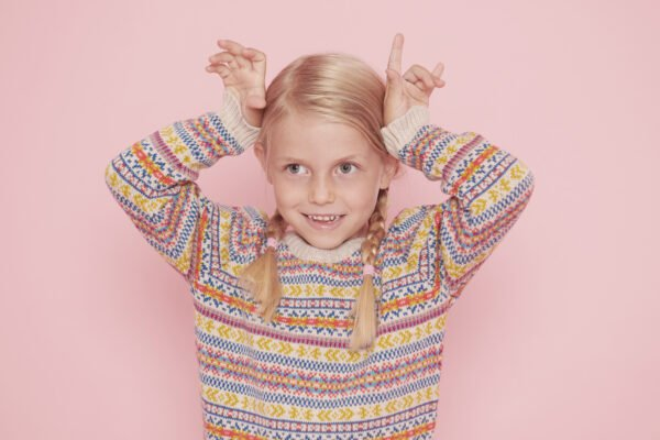 The Explorer Jumper in Multi Natural by The Faraway Gang at Nurture Collective