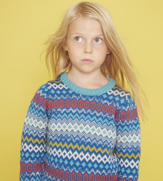 The Day Dreamer Jumper in Teal by The Faraway Gang at Nurture Collective
