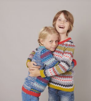 The Day Dreamer Jumper in Teal & Charcoal by The Faraway Gang at Nurture Collective