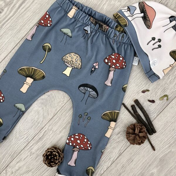 Hirst Pants with matching Hat by Little Drop at Nurture Collective