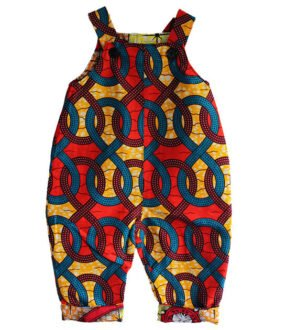 Infinity Dungarees Front by Amamama at Nurture Collective