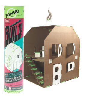 JUNKO Build! Dolls House or Castle Kit by Junko at Nurture Collective