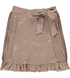 Norma Skirt in Brown by Peter Jo at Nurture Collective