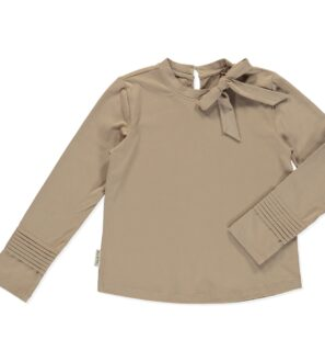 Shirt Tucana in Brown by Peter Jo at Nurture Collective