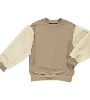 Pullover Carina Sweater in Brown by Peter Jo at Nurture Collective