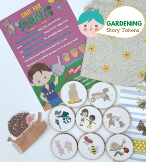 Garden Story Tokens by Helpful Kids at Nurture Collective
