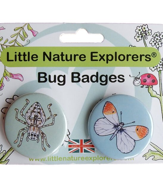 Bug Badges - Little Nature Explorers by Emma Lawrence at Nurture Collective