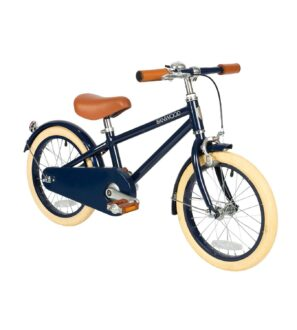 Banwood Classic Pushbike Bike in Blue at Nurture Collective