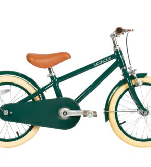 Banwood Classic Pushbike Bike in Green at Nurture Collective