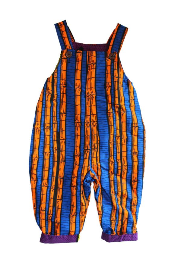 Blue Bamboo Dungarees by Amamama at Nurture Collective