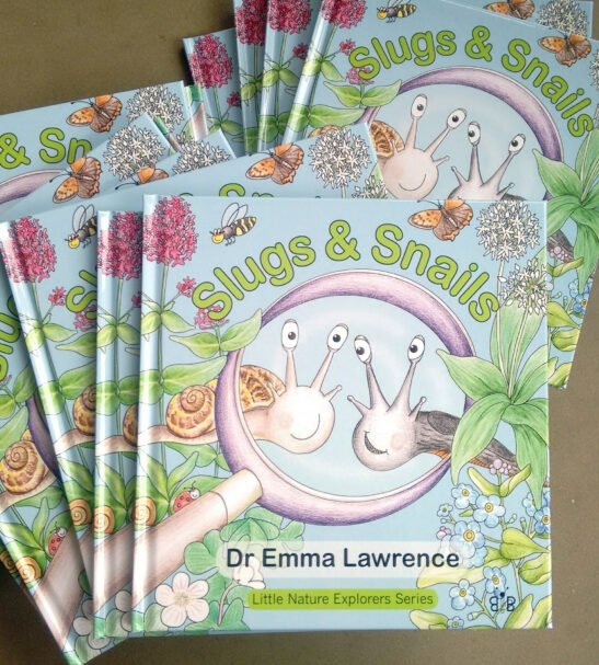 Little Nature Explorers Book - Slugs & Snails by Emma Lawrence at Nurture Collective