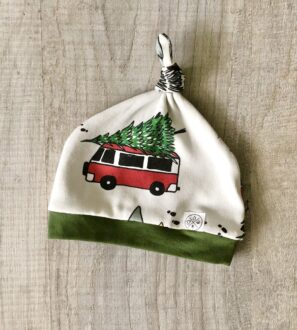 Christmas Camper Baby Hat by Little Drop at Nurture Collective