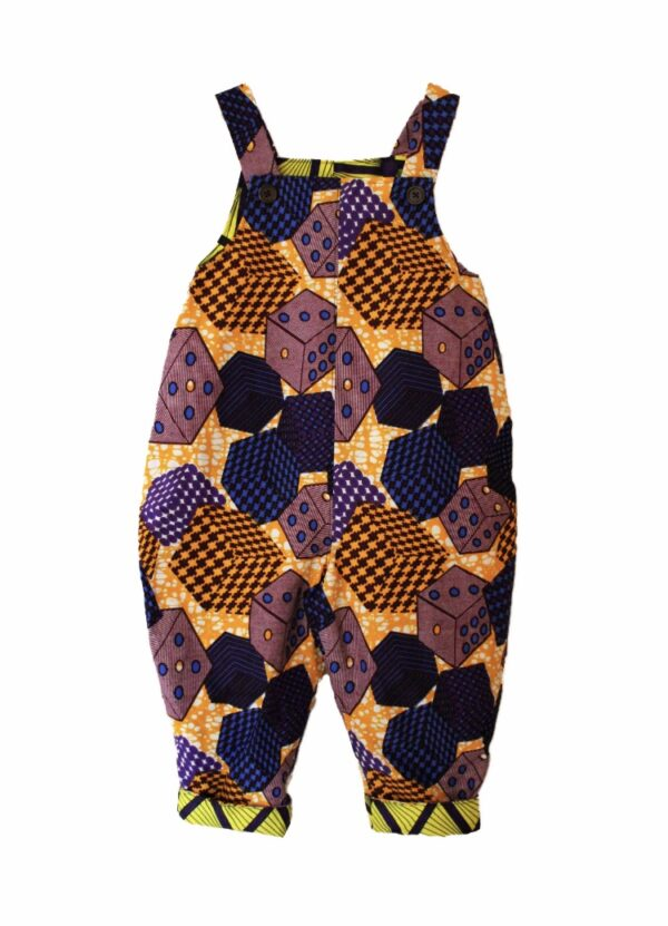 Dice Dungarees Dungarees by Amamama at Nurture Collective
