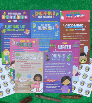 Eco Warriors Flash Cards by Helpful Kids at Nurture Collective