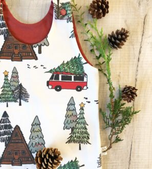 Christmas Camper Romper by Little Drop at Nurture Collective