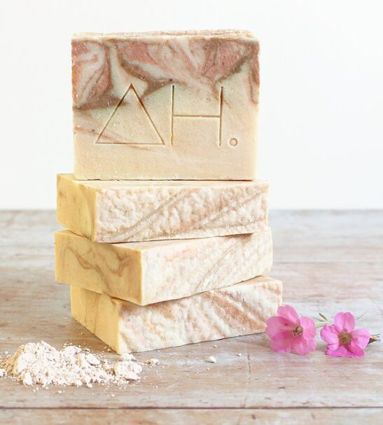 Geranium & pink clay soap - Authentic House at Nurture Collective