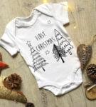 Babys First Christmas Body by Little Drop at Nurture Collective