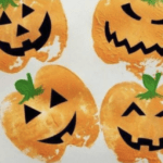 Pumpkin Printing arts and crafts at Nurture Collective blog