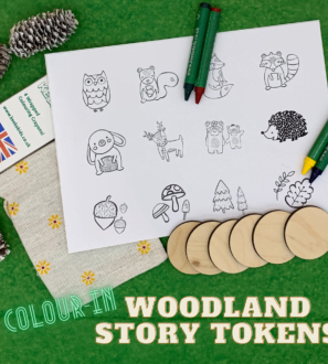 Woodland Story Tokens by Helpful Kids at Nurture Collective