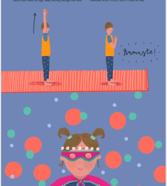 'Rupert and Pip's Yoga Adventures: Lets go ECO!' Poster at Nurture Collective