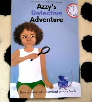 Azzy's Detective Adventure storybook for children at Nurture Collective