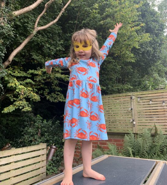 Organic Crab Dress by Maebelle & Bo at Nurture Collective