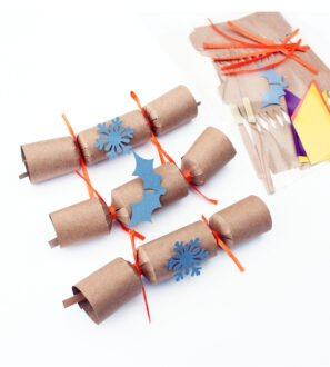 Make your own Mini Eco-friendly Christmas Crackers by Paper Party Bag Shop at Nurture Collective
