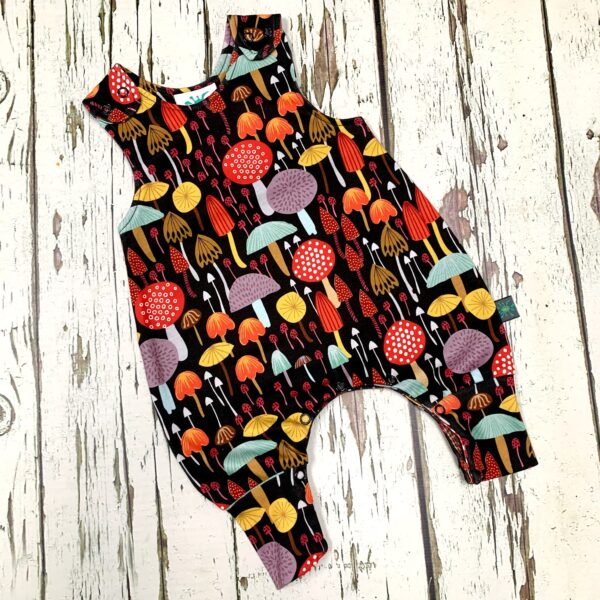 Toadstool Romper by Maebelle & Bo at Nurture Collective