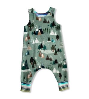 Winter Trail Romper by Squidge & Smudge at Nurture Collective