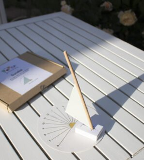 Paper Sundial kit for kids by Paper Party Bag at Nurture Collective