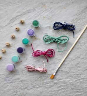DIY Necklace or Necklace or bracelet Kids Craft Kit by Kodes at Nurture Collective
