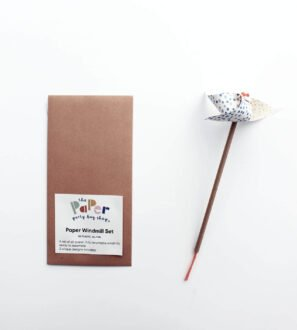 DIY All-Paper Windmill - set of three by Paper Party Bag Shop at Nurture Collective